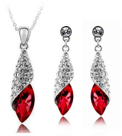 Deep Red Drop Set